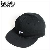 【CAPTAIN STREET】C Pennant アンストラクチャードキャップ BLACK