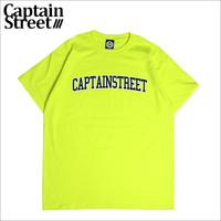 【CAPTAIN STREET】COLLEGE Tシャツ S.GREEN