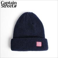 【CAPTAIN STREET】RMN ニットキャップ NAVY
