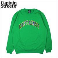 【CAPTAIN STREET】20COLLEGE クルーネックスウェット GREEN XLサイズ