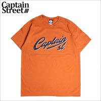 【CAPTAIN STREET】Script LOGO Tシャツ D.ORANGE