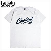 【CAPTAIN STREET】Script LOGO Tシャツ WHITE