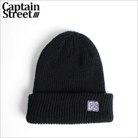 【CAPTAIN STREET】RMN ニットキャップ BLACK