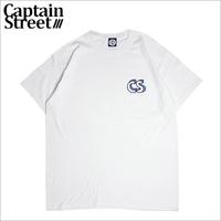 【CAPTAIN STREET】CS LOGO Tシャツ WHITE