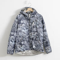 and wander / rock printed insulation hoodie(Men's)