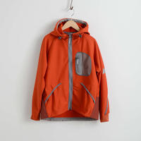 and wander / light fleece hoodie reflect