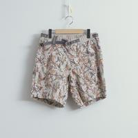 and wander / Printed dry seersucker pants