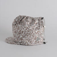 and wander / Geometric printed soft shell cap