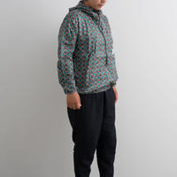 and wander / Printed wind pullover / Women
