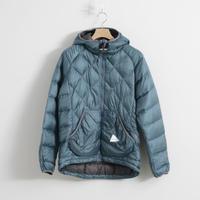 and wander / diamond stitch down jacket(Men's)