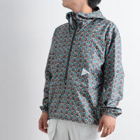 and wander / Printed wind pullover / Men