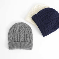 MY / CABLE KNIT CAP