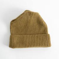 mature ha.  / Pleats knit cap