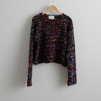ALLEGE FEMME / Hand mesh knit