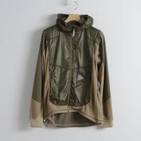 and wander / Mixed pile hoodie(Men's)