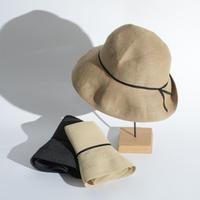 mature ha. / WP paper braid light hat / Wide