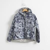 and wander / rock printed insulation hoodie(Women's)