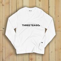 THREETEAGO×Champion ロングスリーブTシャツ