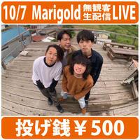 2020.10.7 Marigold投げ銭 YouTube無観客生配信LIVE