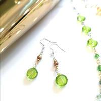 Earrings PE-232-Brown