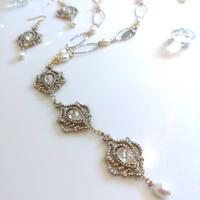 Necklace PNC-147-WHITE