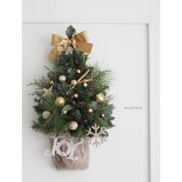 Wall Deco Tree :ゴールド