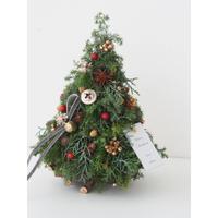 クリスマスツリーアレンジ【フレッシュレッスンキット】★☆☆