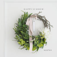 SUMMER2020' Green Wreath【レッスンキット】★★☆