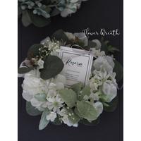 Petitflower Wreath【レッスンキット・動画】★☆☆