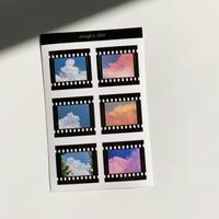 cotton film clear sticker