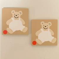 baby bear memo(beige)