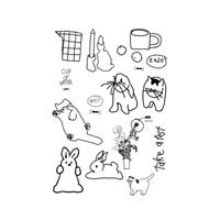 drawing sticker pack