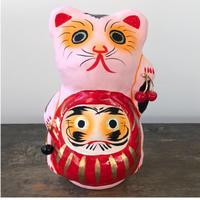 東京だるま/だるま抱き招き猫