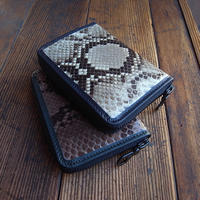 YELLOW BROS. Zip Wallet Python / 受注生産