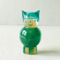mamaハンコ(猫・エメラルドグリーン)  2