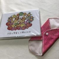 子宮と宇宙と人間のお話DVD(布ナプライナーおまけつき)