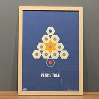 Pencil Tree -NAVY