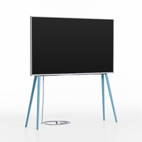 JALG TV STAND/OAK BLUE