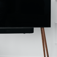 JALG TV STAND/REGULAR - WALNUT NATURAL OIL WAX