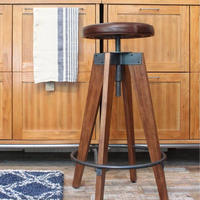 CHINON HIGH STOOL - LEATHER