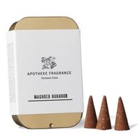 APOTHEKE FRAGRANCE - INCENSE CONE