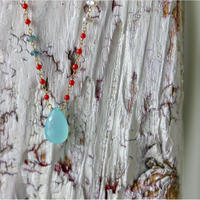 K18 Colors  マルチカラーストーンネックレス