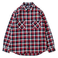 applebum Tricolor Check Nel Shirt
