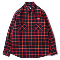 Navy/Red Check Nel Shirt