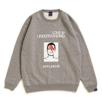 """Thunder Kate"" Crew Sweat [H.Gray]"