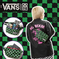"VANS x MxMxM ""DORO CHECKER"" BODY BAG (M1507)"