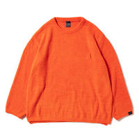 Shaggy L/S Crew Neck [Orange]
