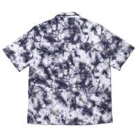 "Marble"" Open Collar S/S Shirt"