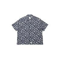 Flower Wave S/S Oversize Shirt