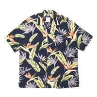 """Flower5021"" S/S Aloha Shirt"